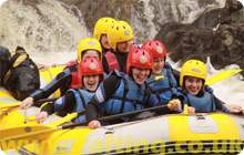 White Water Rafting Hen Party idea Edinburgh