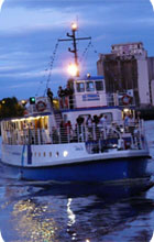 Newcastle hen party activity idea: River Escapes party cruise