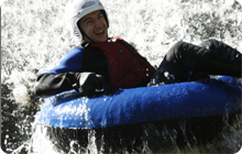 Stag part idea: Tubing and rafting Nae Limits