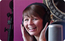 York hen party idea: Record your own pop song at Percentor studio
