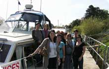 York hen party activity idea: Pink Moon River Cruises