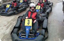 Blackpool stag party idea: Gokarting