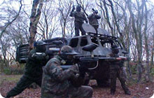 Blackpool stag party idea: Paintballing and lasertag