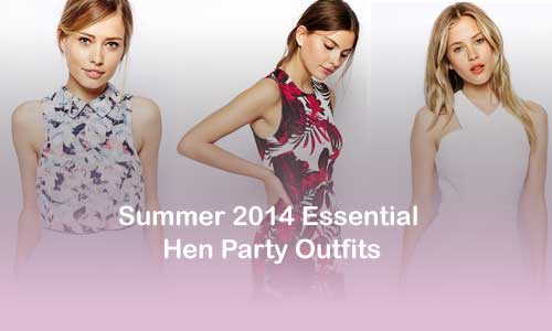 sophisticated hen party outfits