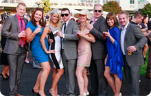 London stag do idea: Kempton race ocurse