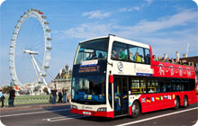 London stag do idea: city tour by bus