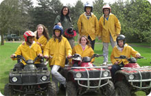 Hen do ideas: London activities, quad biking