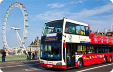London hen party idea: city tour