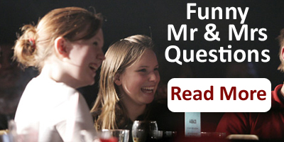Funny Mr And Mrs Questions