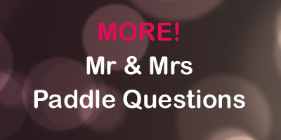 More Mr and Mrs Paddle Questions - Free questions