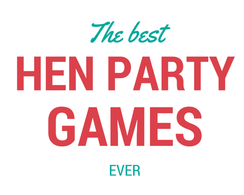 The best hen party games ever