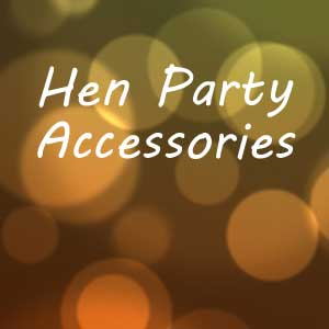 hen party accessories banner