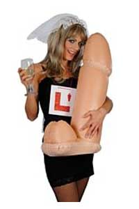 inflatable will hen party accessory