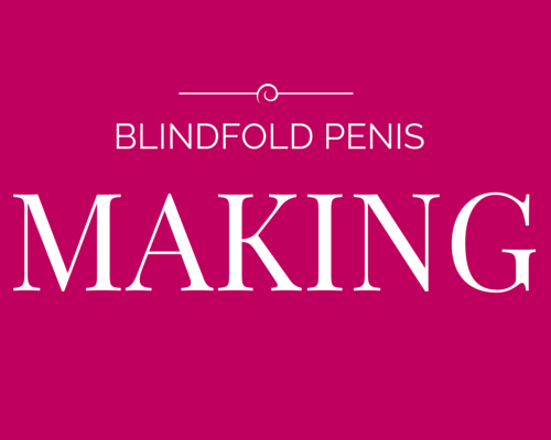 BLINDFOLD PENIS MAKING HEN PARTY GAME