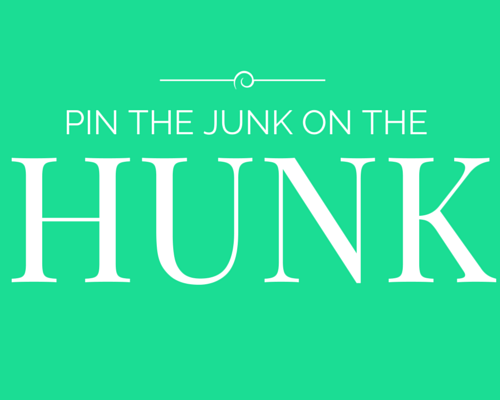 pin the junk on the hunk game header image