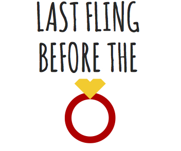 temporary hen party tattoo: last fling before the ring